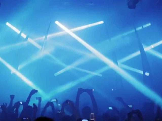 A frame from a video of Q-dance presents Frontliner